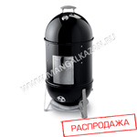 Смокер Weber Smokey Mountain Cooker 47 см Черный